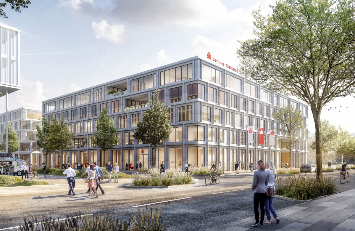 Berliner Sparkasse rents 22,000 square metres of office space in SQUARE 1